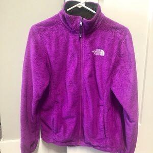 ❤️THE NORTH FACE: purple zip Sherpa